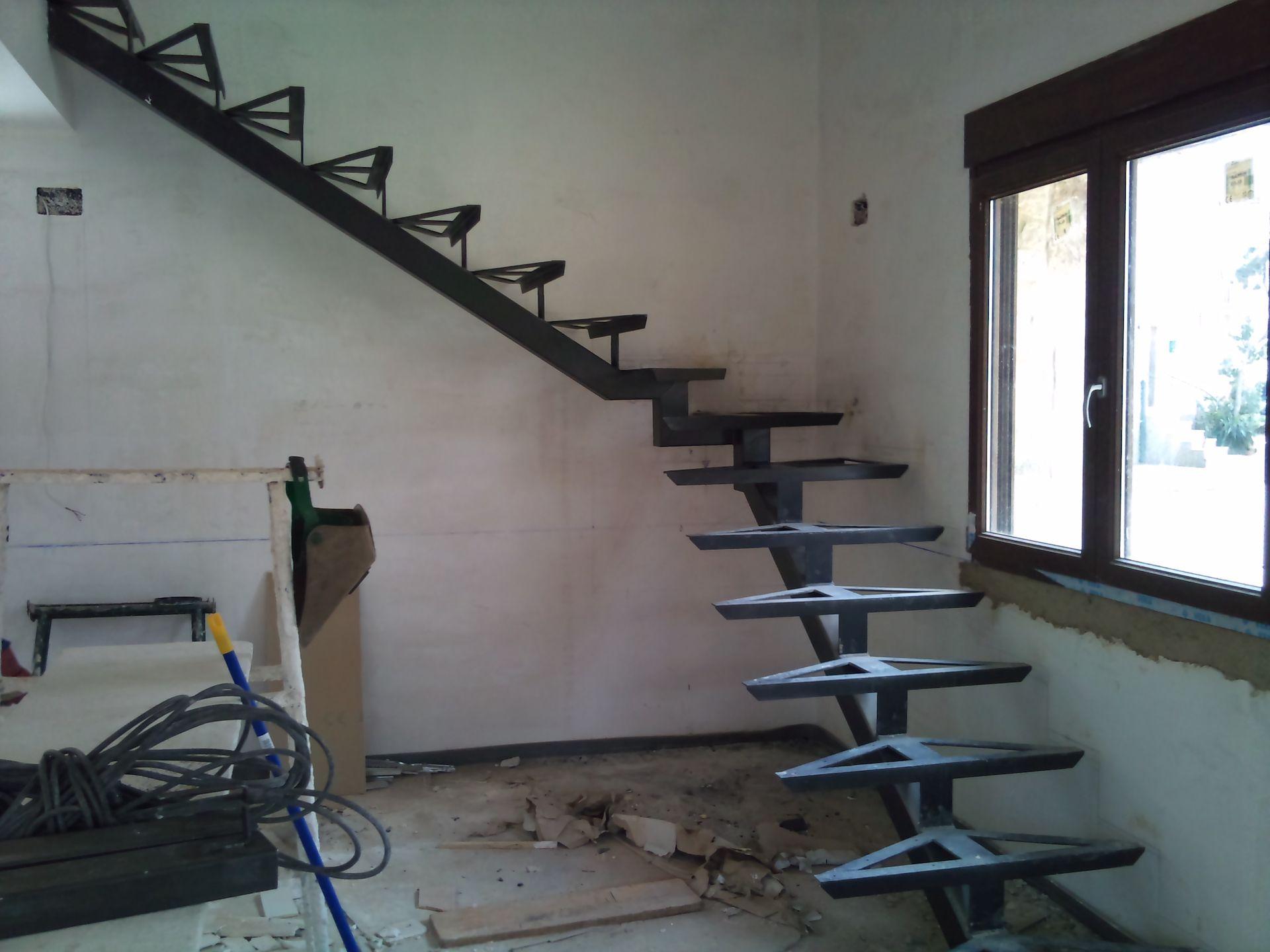 Estructura para escalera