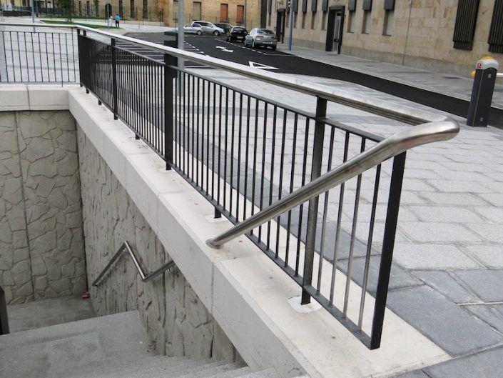 Barandilla Calle Jardines Salamanca