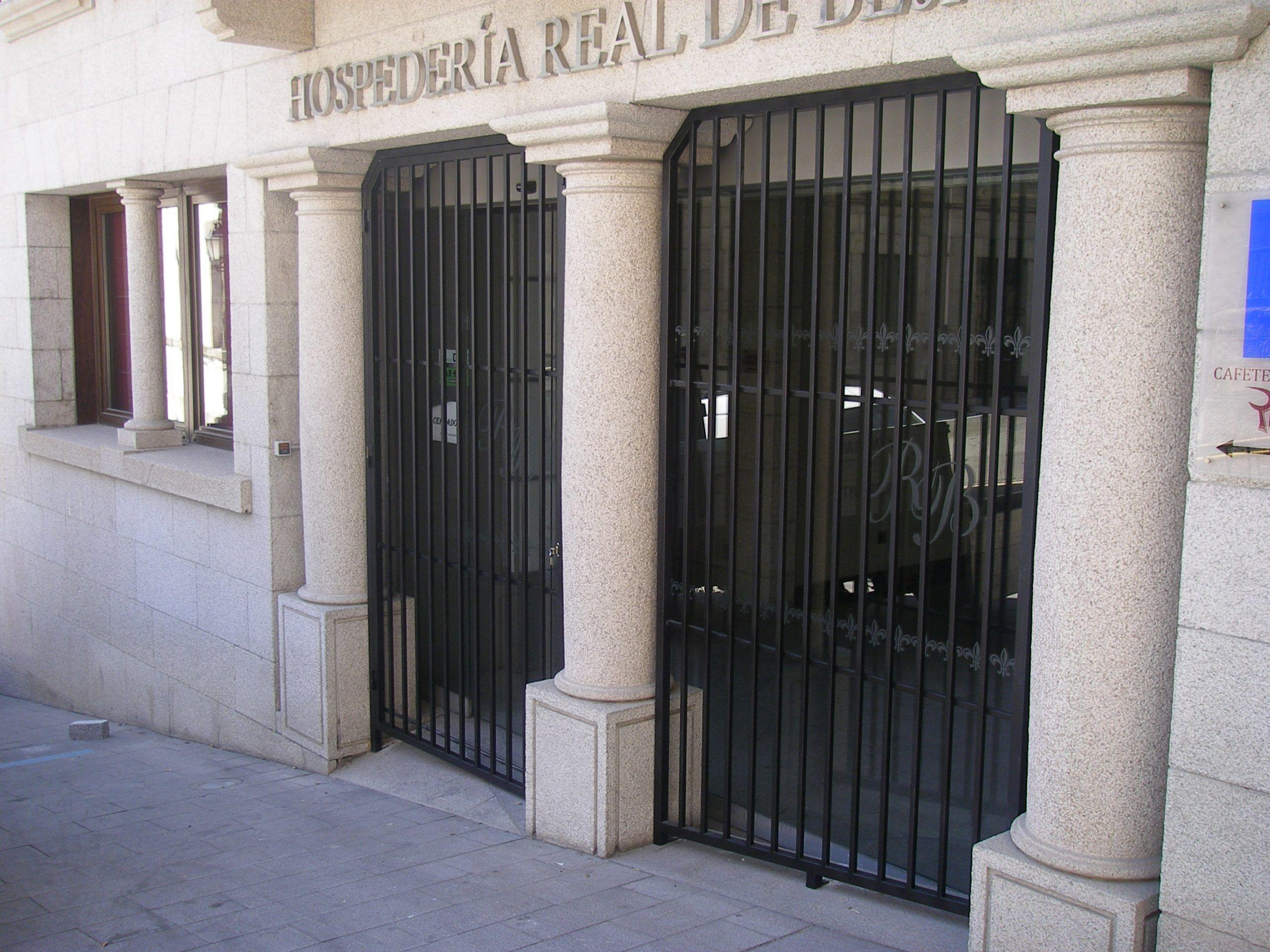 Reja Hospederia real de Bejar (Salamanca)